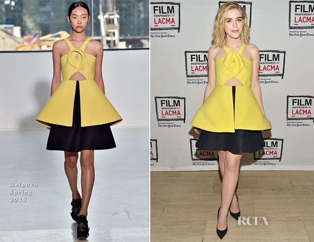 Kiernan Shipka In Delpozo - Film Independent At LACMA Presents A Tribute To Mad Men Part Two