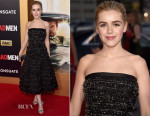 Kiernan Shipka In Miu Miu - 'Mad Men' Black & Red Ball