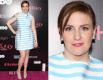 Lena Dunham In Tanya Taylor - 'It's Me, Hilary The Man Who Drew Eloise' New York Screening