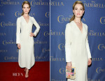 Lily James In Christian Dior - 'Cinderella' Toronto Premiere