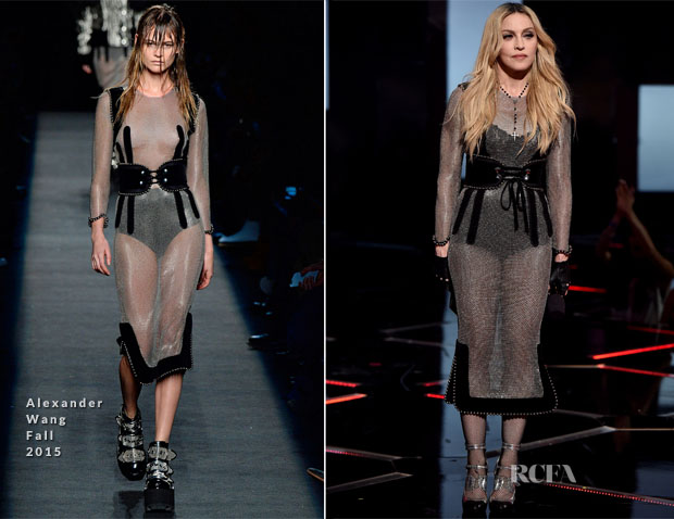 Madonna In Alexander Wang - 2015 iHeartRadio Music Awards