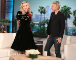 Madonna In Schiaparelli Couture - The Ellen DeGeneres Show