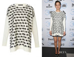 Marion Cotillard's Thakoon Embellished Long Sleeve Top