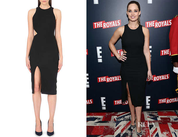 Merritt Patterson's Giulia Audrey Asymmetrical Cutout Dress