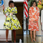 Michelle Obama's Tour Of Asia