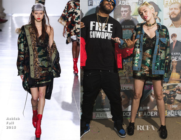Miley Cyrus In Ashish - SXSW Film-Interactive-Music