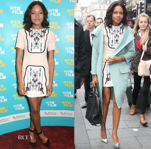 Naomie Harris In Peter Pilotto - Into Film Awards