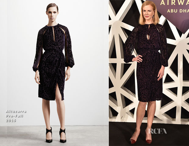 Nicole Kidman In Altuzarra - Etihad Airways Announcement