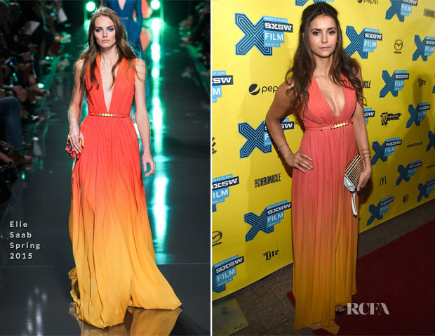 Nina Dobrev In Elie Saab -  'The Final Girls' SXSW Music, Film + Interactive Festival Premiere