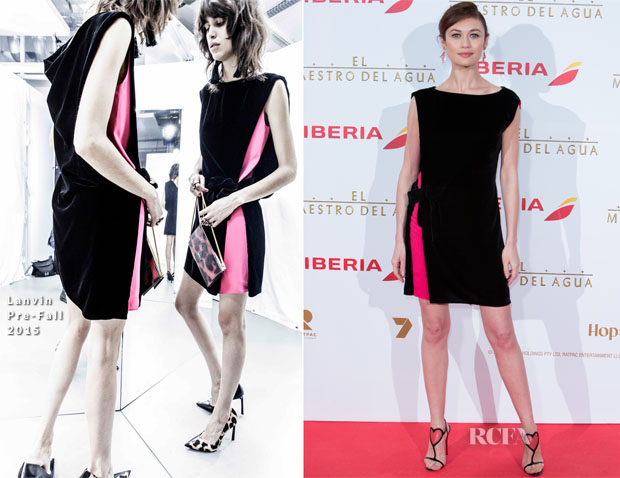 Olga Kurylenko In Lanvin - 'The Water Diviner' Madrid Premiere