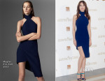 Olga Kurylenko In Mugler - 'The Water Diviner' Madrid Photocall