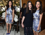 Olivia Munn In Giambattista Valli - The Hollywood Reporters' 25 Most Powerful Stylists in Hollywood Luncheon