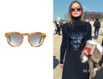 Olivia Palermo's Westward Leaning Voyager 1 Sunglasses