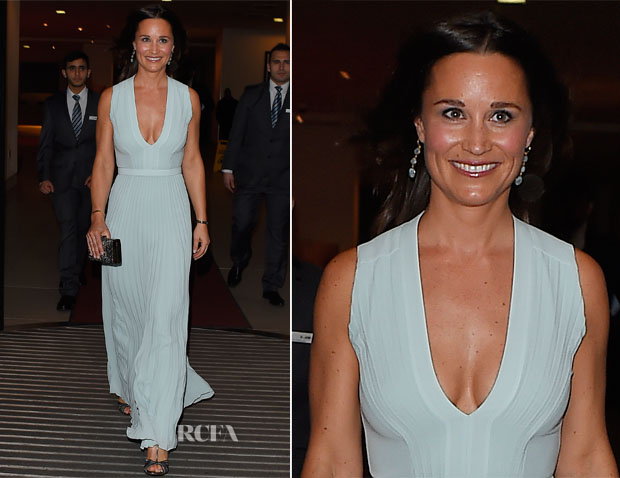 Pippa Middleton In BOSS - Disability Snowsport UK 'ParaSnowBall'