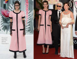 Princess Caroline of Hanover & Charlotte Casiraghi In Chanel Couture - Le Bal de la Rose 2015