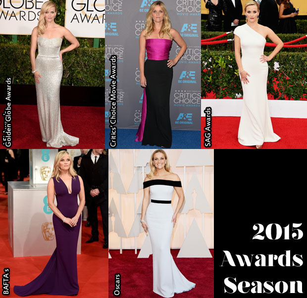 Which Was Your Favourite Reese Witherspoon Awards Season Look?