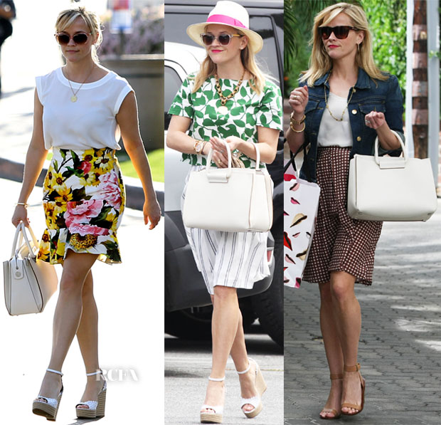 Reese Witherspoon Loves The Row Satchel 12 Leather Tote