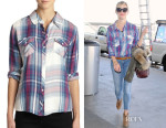Reese Witherspoon's Rails Carmen Plaid Button-Down Shirt