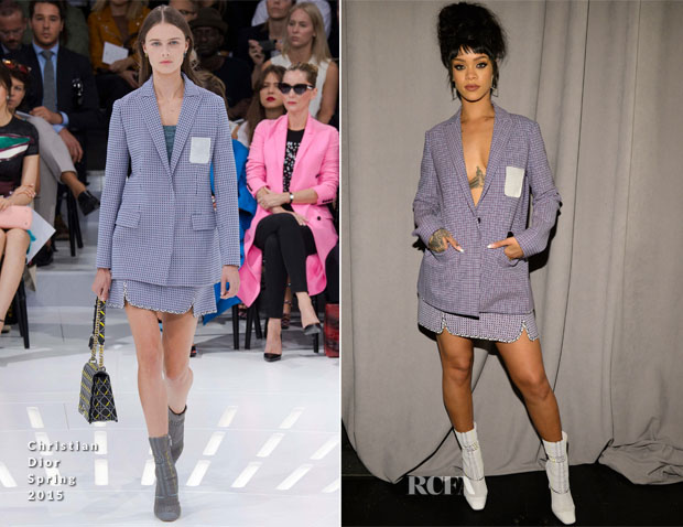 Rihanna In Christian Dior - Tidal Launch Event
