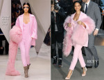 Rihanna In Pascal Millet - Good Morning America