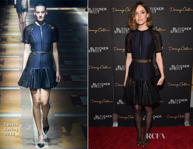 Rose Byrne In Lanvin - 'Danny Collins' New York Premiere
