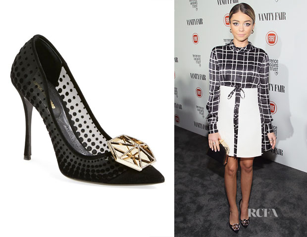 Sarah Hyland's Nicholas Kirkwood 'Hexagon' Pumps