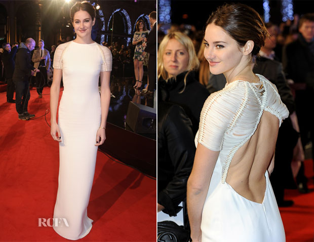 Shailene Woodley In Ralph Lauren Collection - 'Insurgent' World Premiere