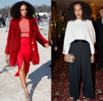 Solange Knowles' Paris Fashion Week Style