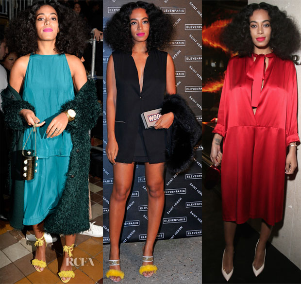 Solange Knowles' Paris Fashion Week Style 2