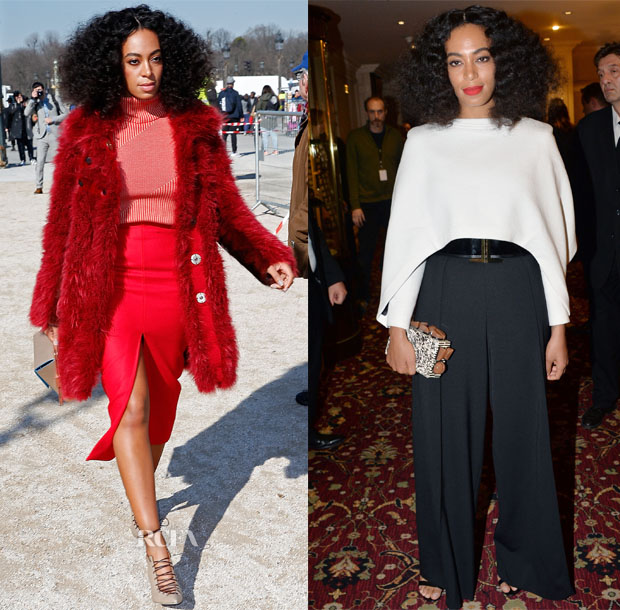 Solange Knowles 39 Paris Fashion Week Style Red Carpet