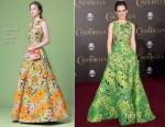 Sophie McShera In Andrew Gn - 'Cinderella' LA Premiere