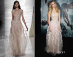 Suki Waterhouse In Reem Acra - 'Insurgent' New York Premiere