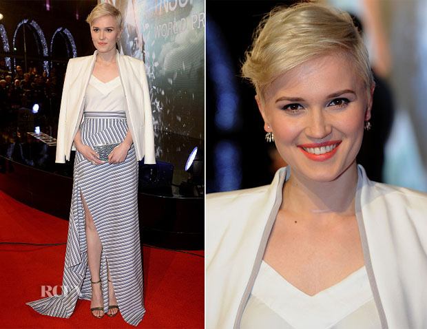 Veronica Roth In Ann Demeulemeester & Michael Lo Sordo - 'Insurgent' World Premiere