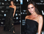 Victoria Beckham In Victoria Beckham - Alexander McQueen: Savage Beauty Exhibition Private View
