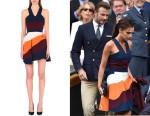 Victoria Beckham's Victoria Beckham Stripe Panel Dress