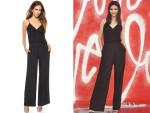 Victoria Justice's Parker Theo Combo Jumpsuit