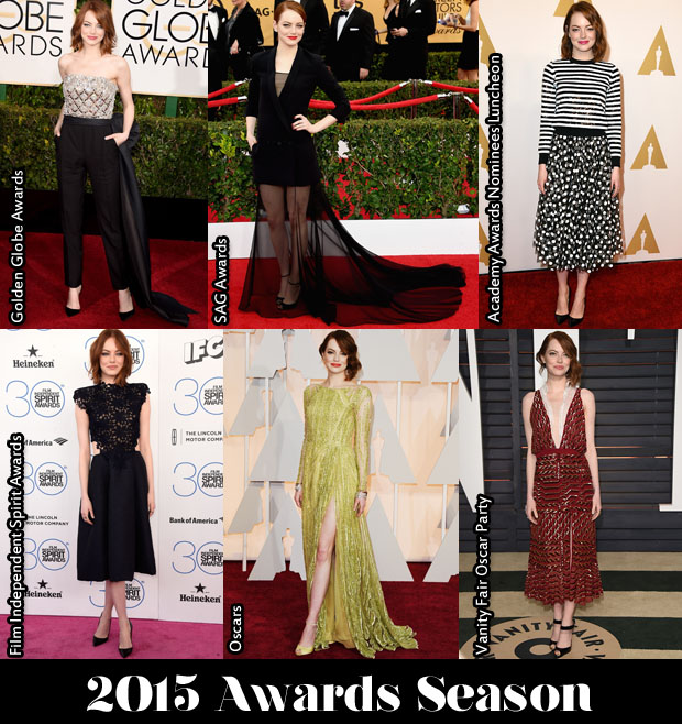 Which Was Your Favourite Emma Stone Awards Season Look