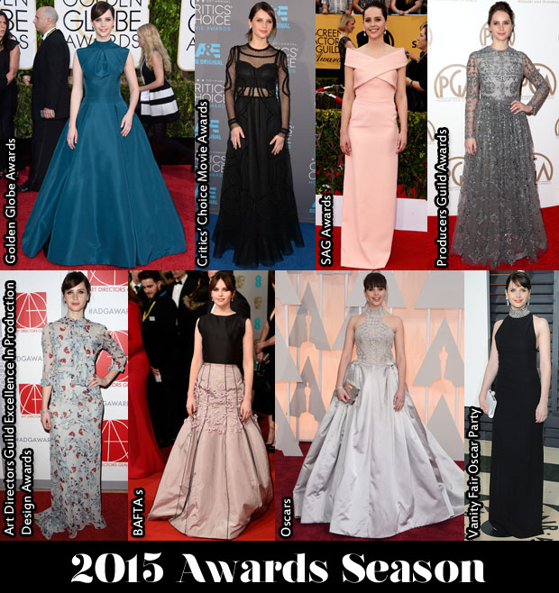 Which Was Your Favourite Felicity Jones Awards Season Look
