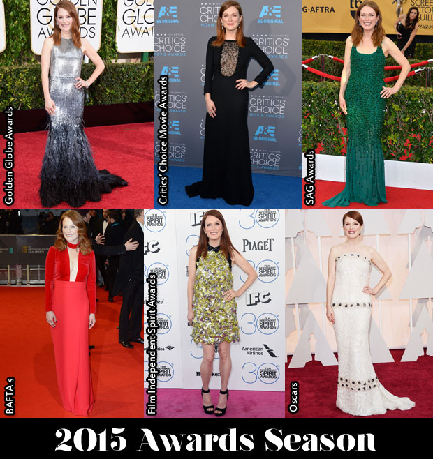 Which Was Your Favourite Julianne Moore Awards Season Look?