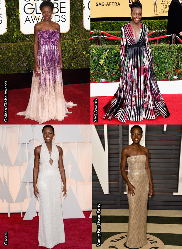 Which Was Your Favourite Lupita Nyong'o Awards Season Look