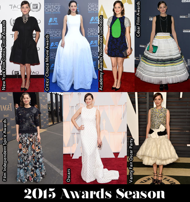 Which Was Your Favourite Marion Cotillard Awards Season Look 2