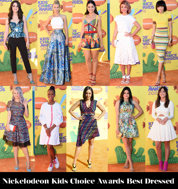 Who Was Your Best Dressed At The 2015 Nickelodeon Kids Choice Awards?