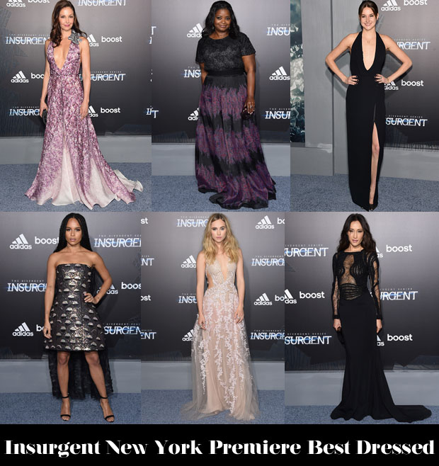Who Was Your Best Dressed At The 'Insurgent' New York Premiere