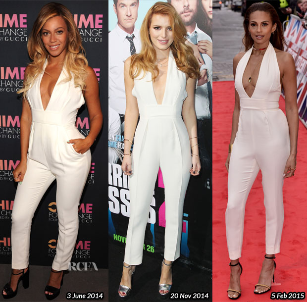 Who Wore Gucci Better Beyonce Knowles, Bella Thorne or Alesha Dixon