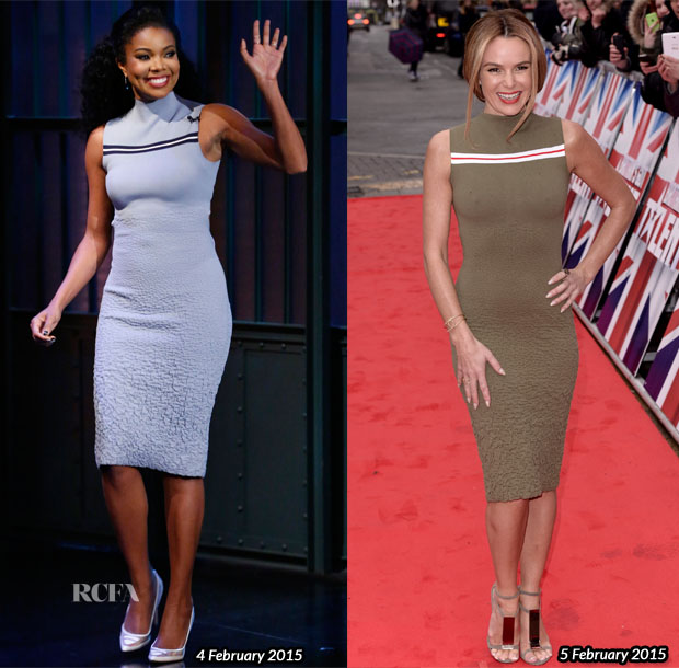 Who Wore Suno Better Gabrielle Union or Amanda Holden