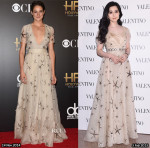 Who Wore Valentino Better Shailene Woodley or Fan Bingbing