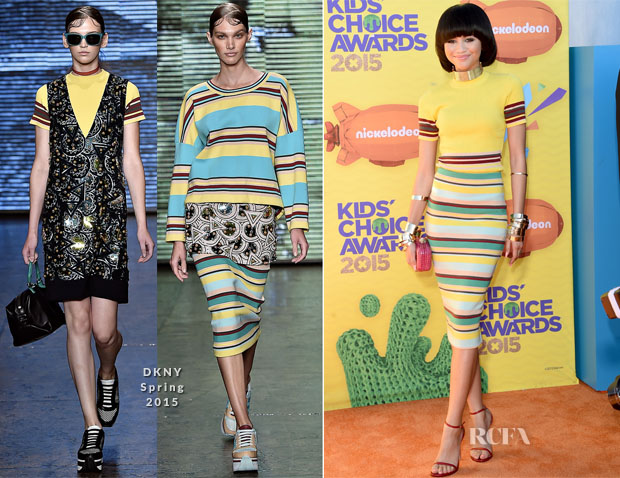 Zendaya Coleman In DKNY - 2015 Nickelodeon Kids' Choice Awards