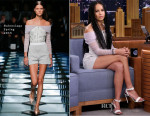 Zoe Kravitz In Balenciaga - The Tonight Show Starring Jimmy Fallon