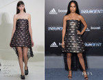 Zoe Kravitz In Christian Dior Couture - 'Insurgent' New York Premiere