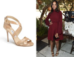 Zoe Saldana's Jimmy Choo Lottie Sandals
